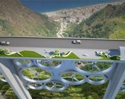 意设计师设计太阳风桥 年发电量4720万千瓦