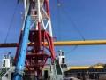 三峡集团广东汕头首个海上风电项目测风塔平台施工完成