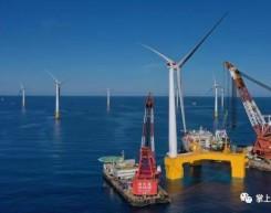 全球首台抗台风型漂浮式海上风电机组在阳江安装成功