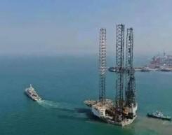 国内首个钻井平台改风电安装平台竣工